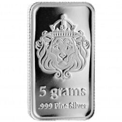 Scottsdale series 2 silver bar 5g