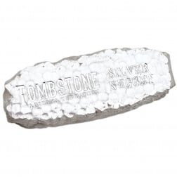 Tombstone Silver Nugget Silver Bar 10oz
