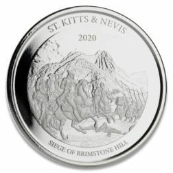 "2020 Ec8 Antigua & Barbuda ""rum Runner"" 1 Oz Silver Coin"