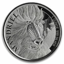2019 Cameroon Cheetah 1 Oz Silver Coin (copy)