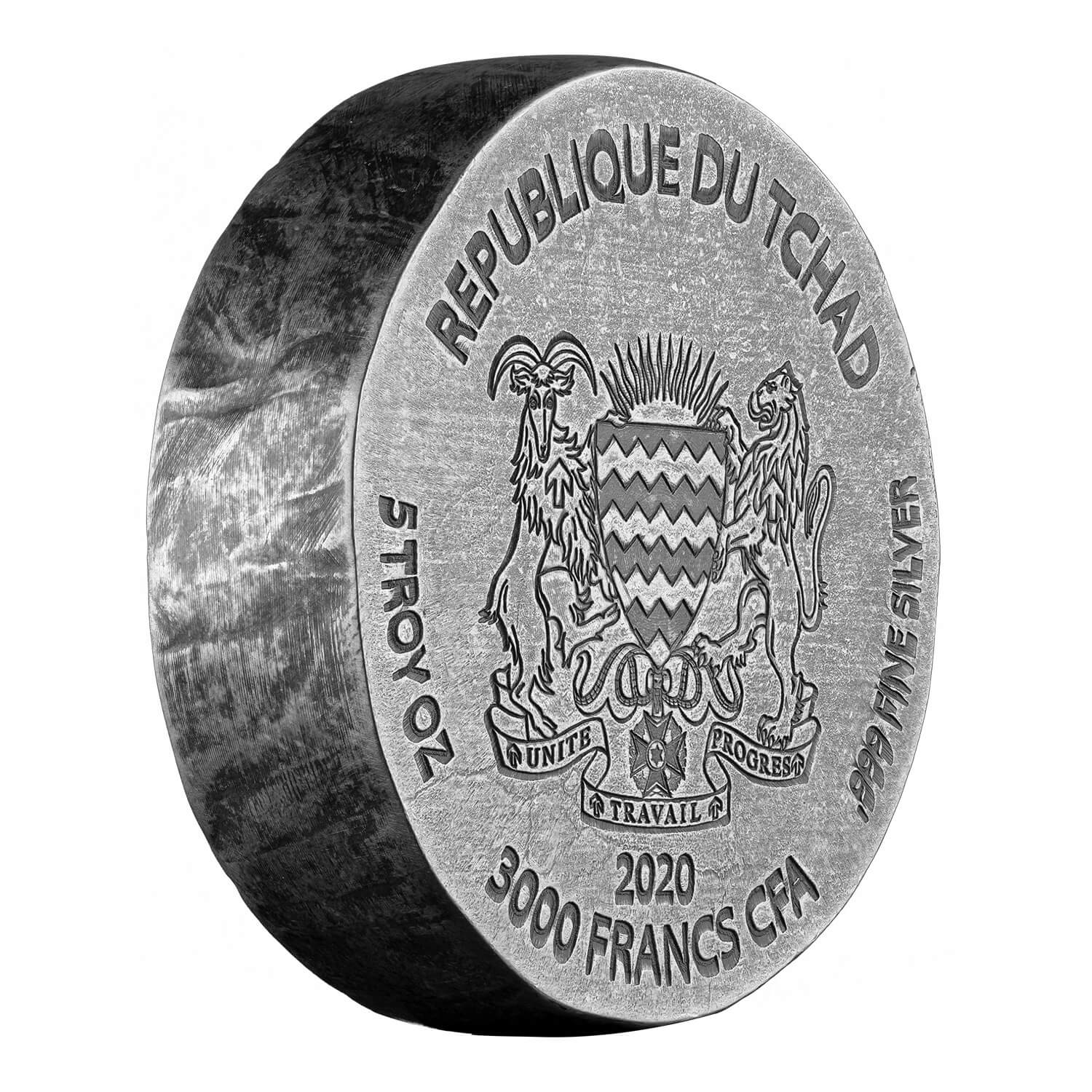 2019 Ers Sphinx 5 Oz Antiqued Silver Coin (copy)