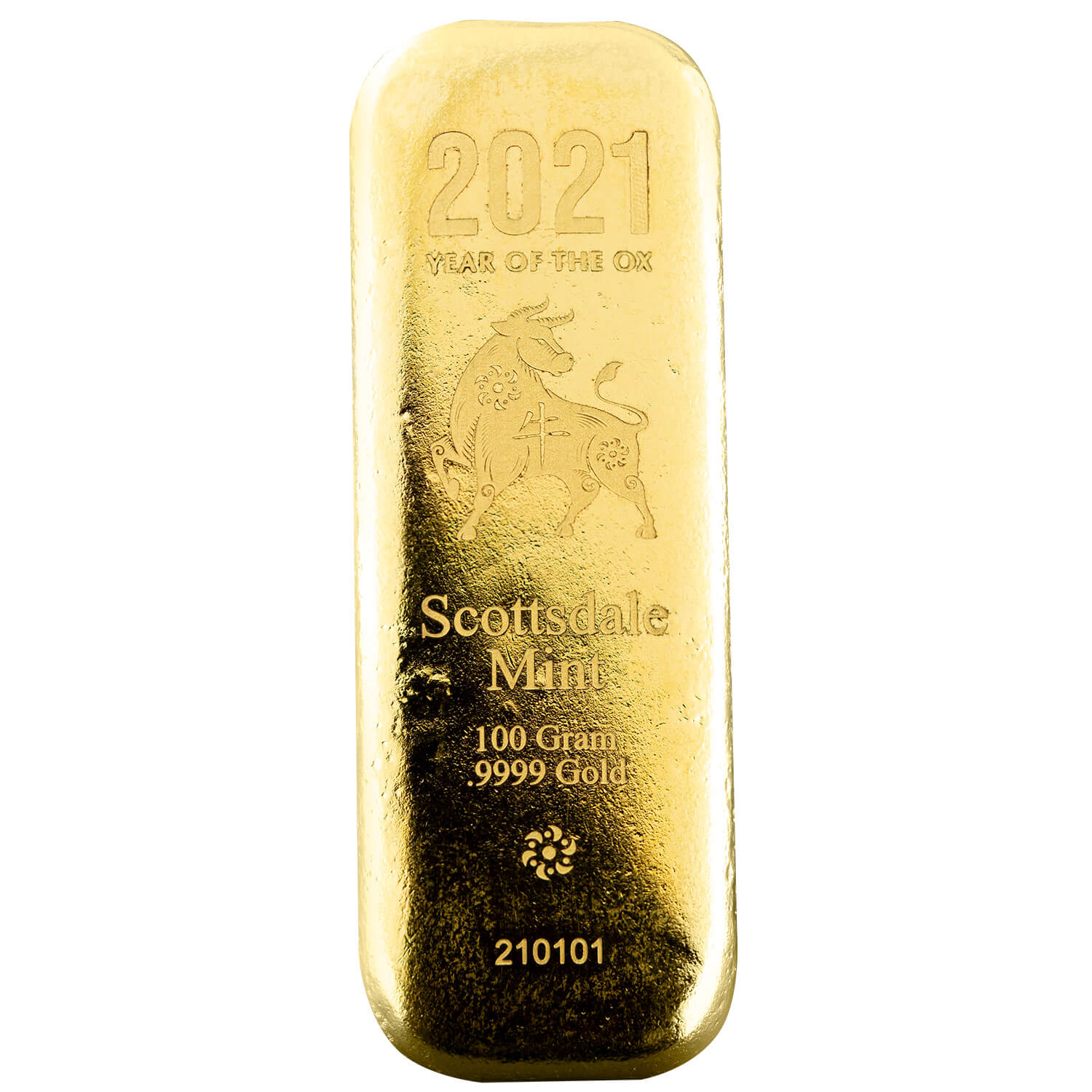 2020 Year Of The Rat 100 G Gold Bar (copy)