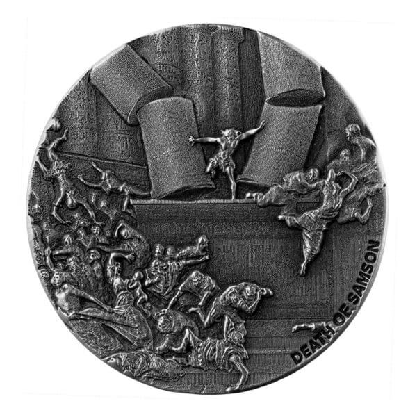 2020 Biblical Series | Christ In The Synagogue 2 oz Silver Coin