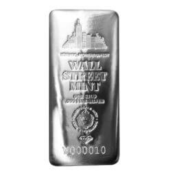 Wall Street Mint 10 Oz Silver Bar (copy)
